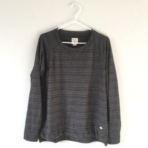Champion striped crewneck sweater